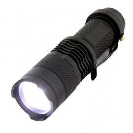 Φακός ACC-247, CREE XR-E Q5, 3W, 220 lumens, μαύρος ACC-247