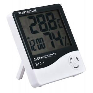 Επιτραπέζιο ρολόι AG246A, με υγρόμετρο & θερμοκρασία AG246A