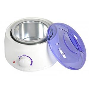 Κεριέρα αποτρίχωσης Pro-Wax100, με ρυθμιστή θερμοκρασίας, 400ml, λευκή AG37B