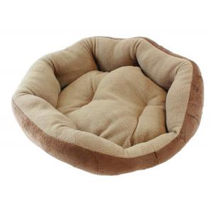Κρεβάτι για κατοικίδιο AG602A, 32 x 38, καφέ AG602C