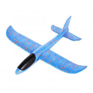 Συναρμολογούμενο αεροπλάνο από φελιζόλ AIR-003, 35x30cm, μπλε AIR-003