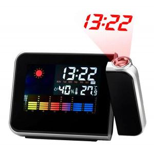 Ψηφιακός μετεωρολογικός σταθμός AK237 με ρολόι, ξυπνητήρι, ημερολόγιο AK237