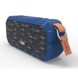 ALTEC LANSING φορητό ηχείο X-Wild 10W, αδιάβροχο, power bank, μπλε AL-BT6010-BL