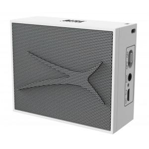 ALTEC LANSING φορητό ηχείο Pocket Urban Sound, 2W, Aux, λευκό AL-BTQ6-WH