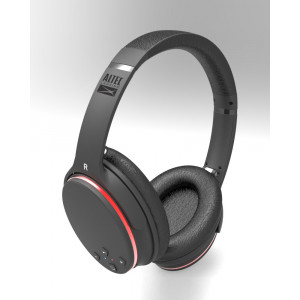 ALTEC LANSING Bluetooth headphones Slim, Noise Cancellation, μαύρα AL-CAQN01-BK