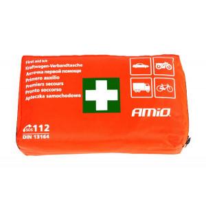 AMIO Σετ πρώτων βοηθειών 13164 για οχήματα, 39 τεμαχίων AMIO-13164