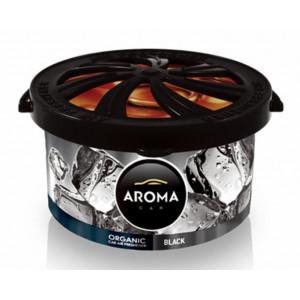 AROMA CAR αρωματικό αυτοκινήτου Organic A92103, 40g, Black AMIO-A92103