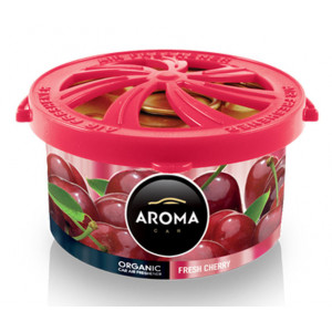 AROMA CAR αρωματικό αυτοκινήτου Organic A92120, 40g, Cherry AMIO-A92120