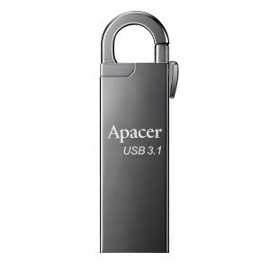 APACER USB Flash Drive AH15A, USB 3.1 Gen1, 16GB, Ashy