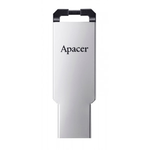APACER USB Flash Drive AH310, USB 2.0, 32GB, Silver AP32GAH310S-1