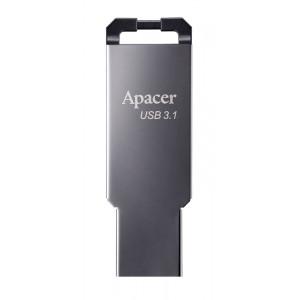 APACER USB Flash Drive AH360, USB 3.1 Gen1, 64GB, Black AP64GAH360A-1