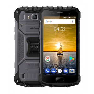 ULEFONE SP Armor 2, IP68, 4G, 5 Full HD, 6GB/64GB, Octa Core, Gray ARMOR2-GR