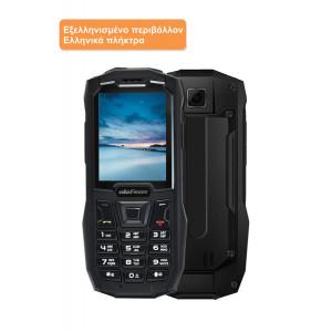 ULEFONE Κινητό Τηλέφωνο Armor Mini, IP68, 2.4, 32/32MB, Dual SIM, μαύρο ARMORMINI-BK
