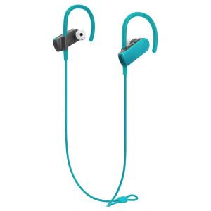 AUDIO-TECHNICA bluetooth earphones ATH-SPORT50BT, 9mm, πράσινα ATH-SPORT50BT-BL