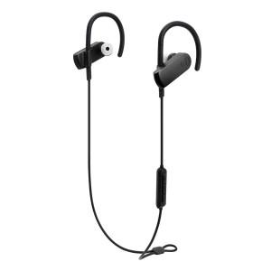 AUDIO-TECHNICA bluetooth earphones ATH-SPORT70BT, 9mm, μαύρα ATH-SPORT70BT-BK
