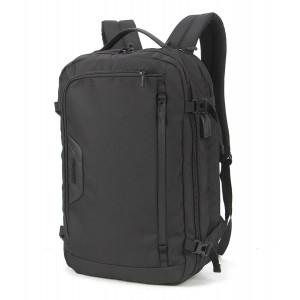 ARCTIC HUNTER τσάντα πλάτης B-00183-BK με θήκη laptop, αδιάβροχη, μαύρη B-00183-BK