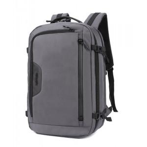 ARCTIC HUNTER τσάντα πλάτης B-00183-GY με θήκη laptop, αδιάβροχη, γκρι B-00183-GY
