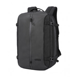 ARCTIC HUNTER τσάντα πλάτης B-00189-BK, laptop, αδιάβροχη, μαύρη B-00189-BK