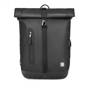 ARCTIC HUNTER τσάντα πλάτης B-00283-BK με θήκη laptop, αδιάβροχη, μαύρη B-00283-BK