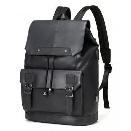ARCTIC HUNTER τσάντα πλάτης B-00287-BK, laptop, USB, μαύρη B-00287-BK