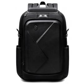 ARCTIC HUNTER τσάντα πλάτης B-00295-BK, laptop, eva πρόσοψη, μαύρη B-00295-BK