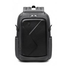 ARCTIC HUNTER τσάντα πλάτης B-00295-BK, laptop, eva πρόσοψη, γκρι B-00295-GY