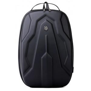 ARCTIC HUNTER τσάντα πλάτης, laptop, USB, eva πρόσοψη, αδιάβροχη, μαύρη B-00320-1680PU-BK