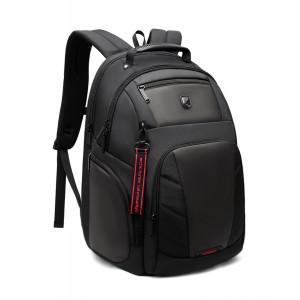 ARCTIC HUNTER τσάντα πλάτης B-00341-BK με θήκη laptop, μαύρη B-00341-BK