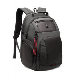 ARCTIC HUNTER τσάντα πλάτης B-00341-GY με θήκη laptop, γκρι B-00341-GY