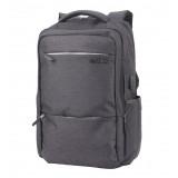 ARCTIC HUNTER τσάντα πλάτης B00107-BK, laptop, αδιάβροχη, μαύρη B00107-BK