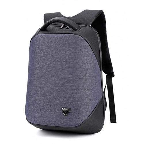 ARCTIC HUNTER τσάντα πλάτης B00193-GY, laptop, USB, αδιάβροχη, γκρι B00193-BL