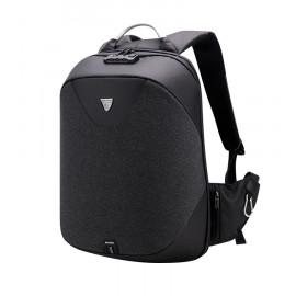 ARCTIC HUNTER τσάντα πλάτης B00208, laptop, USB, αδιάβροχη, lock, μαύρη B00208-BK