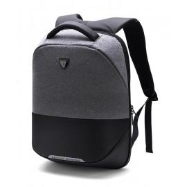 ARCTIC HUNTER τσάντα πλάτης B00216-DG, laptop, USB, αδιάβροχη, σκούρο γκρί B00216-DG