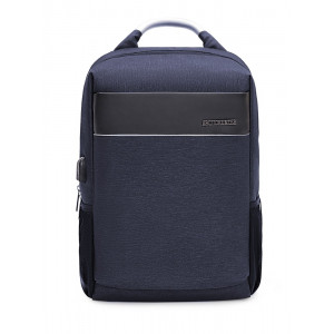 ARCTIC HUNTER τσάντα πλάτης B00218-BL, laptop, USB, αδιάβροχη, μπλε B00218-BL