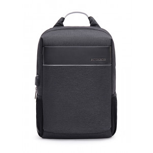 ARCTIC HUNTER τσάντα πλάτης B00218-GY, laptop, USB, αδιάβροχη, γκρι B00218-GY