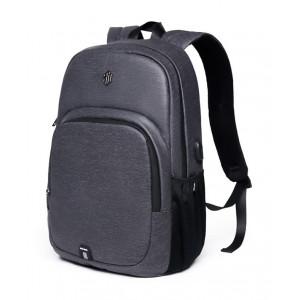 ARCTIC HUNTER τσάντα πλάτης B00249, laptop, USB, αδιάβροχη, σκούρο γκρι B00249-DG