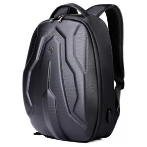 ARCTIC HUNTER τσάντα πλάτης B00320-BK-FC με θήκη laptop, eva, μαύρο FC B00320-BK-FC