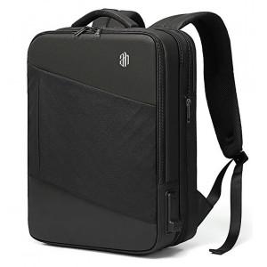 ARCTIC HUNTER τσάντα πλάτης B00345-BK με θήκη laptop, USB & 3.5mm, μαύρη B00345-BK