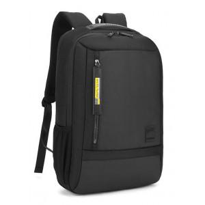 ARCTIC HUNTER τσάντα πλάτης B00357-BK με θήκη laptop, αδιάβροχη, μαύρη B00357-BK