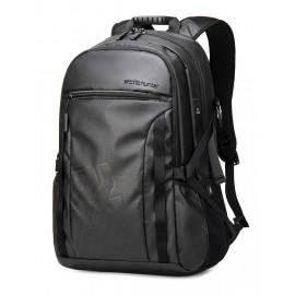 ARCTIC HUNTER τσάντα πλάτης B00381 με θήκη laptop, USB, μαύρη B00381-BK