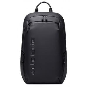ARCTIC HUNTER τσάντα πλάτης B00423-BK με θήκη laptop 15.6, μαύρη B00423-BK