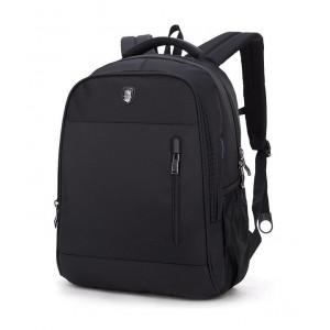 ARCTIC HUNTER τσάντα πλάτης B180018, laptop, αδιάβροχη, μαύρη B180018-BK