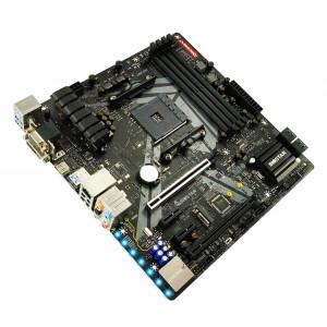 BIOSTAR Μητρική B450GT3, 4x DDR4, AM4, USB 3.1, mATX, HDMI, Ver. 6.0 B450GT3