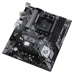 ASROCK μητρική B550 Phantom Gaming 4/ac, 4x DDR4, AM4, USB 3.2, ATX B550-PG4-4AC