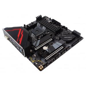 BIOSTAR Μητρική B550GTQ, 4x DDR4, AM4, USB 3.2, Micro ATX, Ver. 5.0 B550GTQ
