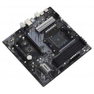 ASROCK μητρική B550M Phantom Gaming 4, 4x DDR4, AM4, USB 3.2, mATX B550M-PG4