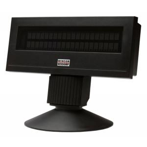 WINCOR NIXDORF POS customer display BA63, USB, μαύρη BA63