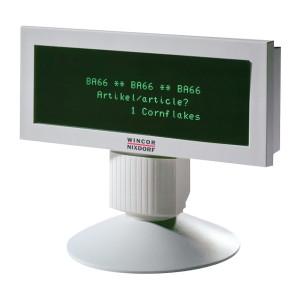 WINCOR NIXDORF POS customer display BA66-1, USB, γκρι BA66-1