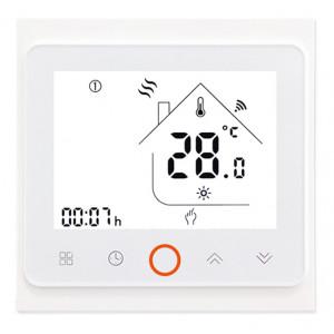 Smart θερμοστάτης πετρελαίου BHT-002-GBLW, WiFi, λευκός BHT-002-GBLW