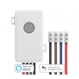 BROADLINK Έξυπνος Διακόπτης Wi-Fi SC1, remote, λευκός BL-SC1